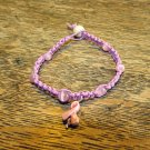 Breast Cancer Awareness Bracelet, Pink