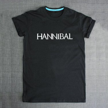 Buy American Hit TV Show Hannibal Letter Print T shirt Black Fashion Novelty Tshirt Boy Tee Swag Me