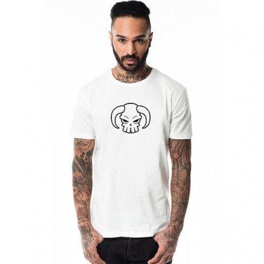 Buy Japan Anime Comics Onepiece Portgas D Ace Bull Head Skull Logo Print T shirt Men Clothing Man T