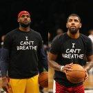 Buy Lebron James Kyrie Irving Style I Cant Breathe Letter Print T shirt Black Fashion Novelty Tshir