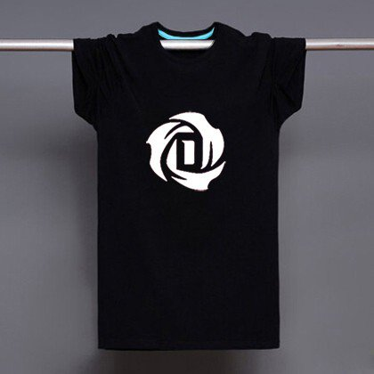 Buy Mens Black Derrick Rose Flower Logo Print T Shirt Men T shirt Novelty Streetwear Man Tshirt Ska