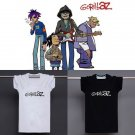 Buy Mens Black White UK Rock Gorillaz Logo Letter Print 100 Cotton T shirt Men Tshirt Man Soft Prin