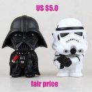 Buy 11cm Star Wars The Force Awakens The Black Series Darth Vader Stormtrooper Boba Fett Figure Mod
