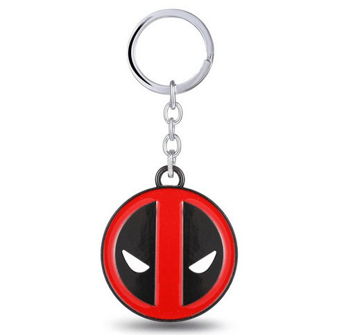 Buy Movie Deadpool Figure Toys Mark Model Alloy Keychain Pendant Wade Wilson X men Keyring Super He