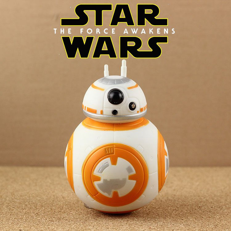 Buy HOT! 12cm The Star Wars Force Awakens BB8 BB 8 Lightsaber Tumbler Pendant Action Figure Toys Ch