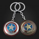 Buy Hot Super Hero Captain America Pendant Key Chain Ring Metal Avengers Action Figures Toys from R