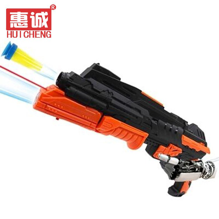 Buy High Quality Pump Pistol Airsoft Infrared Ray Nerf Guns Airgun Soft Bullet Water Crystal Bullet
