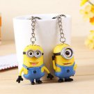 Buy Hot! Despicable Me Minions Key Chain Ring Holder Cute Aciton Figure Keychain Keyring Pendant De