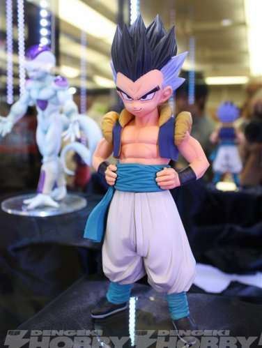 Buy 19cm Original Banpresto Gotenks Dragon Ball Z MSP Anime Figure Toy Master Stars  Collection Mod