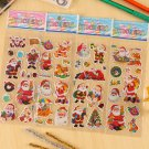 Buy 4pcslot Three dimensional cartoon bubble sticker Santa Claus Baby products nursery small prizes
