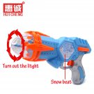 Buy High Quality Pistol Guns Turn Out Colour Light  Sounds  Snow beat Gun Nerf  Toy Gift For Kids F