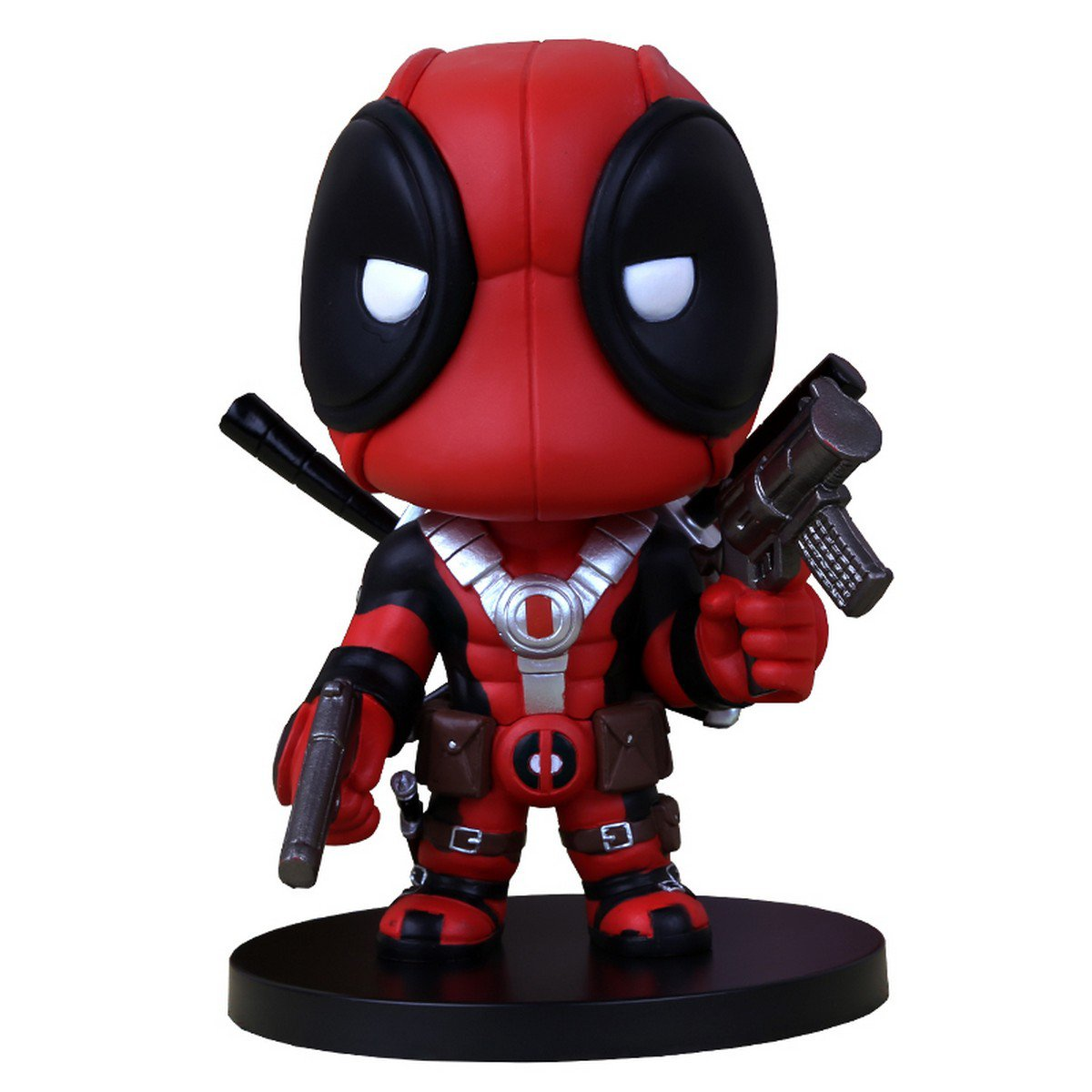Buy hot! 5.514cm Q Version  Anime Super hero X men Deadpool PVC Doll Action Figure Toys Gift For Ch