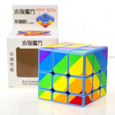 Buy New! Yongjun 3x3x3 Colour Magic Cube Professional Third order cube magic Puzzle Cubes Kids Toys