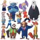 Buy New! 12pcslot  Movie Zootopia  Cartoon Utopia Action Figure Movie Pvc Mini Models 4 8cm Rabbit
