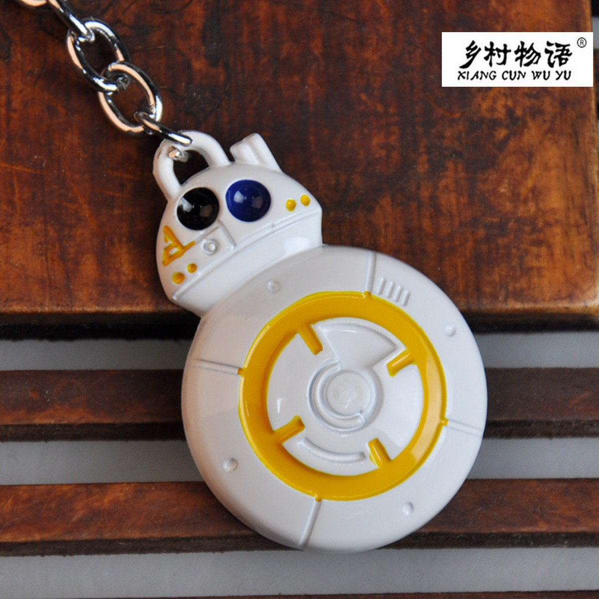 Buy The Star Wars Force Awakens BB8 BB 8 Droid Robot Hang  Pendant Action Figure Toys Keychain Gife