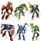 Buy The Avengers Super Hero Iron Man Captain America Batman Hulk toysChildrens educational building