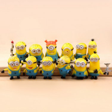 Buy 12 Minions ToyExplosion Models ME2 Precious Milk Dad Despicable  Wholesale Doll Ornaments,Buyin