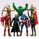 Buy 7 Pcslot Super Hero Avengers Action Figure Collectible Toys  Model Captain America,Iron Man, Ra