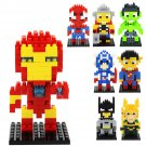 Buy The Avengers Marvel Super Heroes Captain America, Iron Man,Hulk Mini figures Building Block Toy