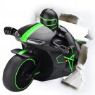 Buy New!Blue  Red Exciting MotorcycleToys Electric Remote 2.4GHz Control 30 Motorcycle Model Toy Bi