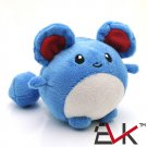 Buy Cute Pokemon Center Marill Figure Toy Mini Figure Minifigures Anime Pokemon Center Plush Doll T