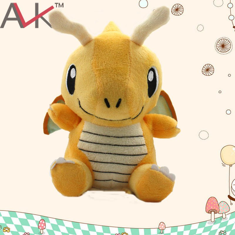 Buy Cute Pokemon Center Dragonite Stuffed Plush Doll Mini Figure Minifigures Anime Pokemon  Figure