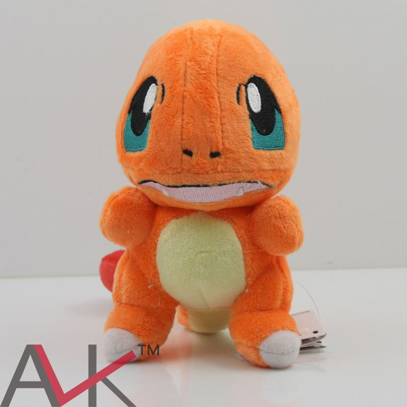 Buy Cute Pokemon Center Charmander Stuffed Plush Doll Mini Figure Minifigures Anime Pokemon  Figure