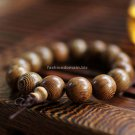 Buy Fashion Natural  Wings of Wood 15mm Beads Bracelet  Bangle for Women and Men Buddhist Bracelet
