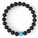 Buy Mens Water Drop Bracelet   Semi Precious Natural Stones 8mm   Handmade Genuine Quality Agate Br