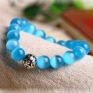 Buy Nature Stone Opal Rope Handmade Lucky Tibetan Silver Beads Bracelets Mens Beaded Bracelets Jewe