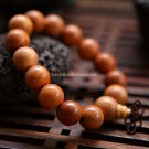 Buy New Fashion Hot 15mm Taxus chinensis Wood Men and Women Bracelet Big Beads unisex Charm Bangle