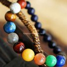 Buy Hot New Fashion High Quality Natural Stone Precious Beads Lovers Bangle Night Sky Bracelet Wome