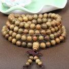 Buy Original Handwork Natural Wood Green Sandalwood Beads Multilayer Bracelets for Women and Men 6m