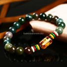Buy Romantic Jewelry8mm Natural agate Stone Bracelet The six Buddhist Mantra bracelets bead bracele