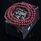 Buy Tibetan Buddhist Prayer Beads Decor Chain Men Bracelet Wrist Ornament Natural Violet Wooden Bud