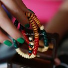 Buy Wholesale Religion Jewelery Multicolored ebony 108 Beads Multilayer Buddha Bracelets Men  Women
