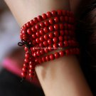 Buy Wholesale Religion Jewelery Red sandalwood beads 6mm Multilayer Buddha Bracelets Men  Women Luc