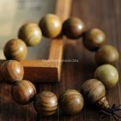 Buy Wholesale Tibetan Jewelery Natural Green sandalwood Chunky Bead Buddha Bracelet 20mm Men Gift R