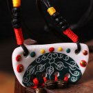 Buy New Vintage Ceramic Necklace Pendants for Women Fashion Hand made Women Long Necklace Gift Acce