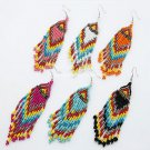 Buy Fashion Vintage Bohemian Ethnic Women Color Tassel Earring Beads Pendent Temperament Summer Ear