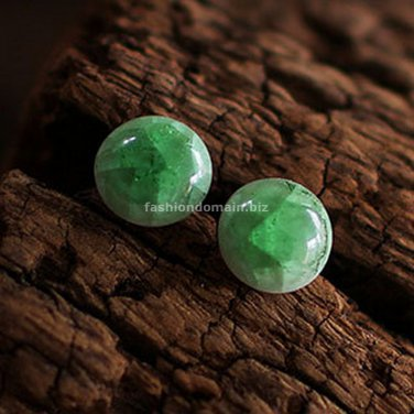 Buy New Hot Fashion High quality Vintage Ethnic Bijoux Ceramics Round Stud Earrings For Women Party