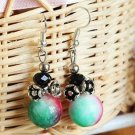 Buy New Hot Fashion High quality Vintage Ethnic Natural Apples stone Dangle Earrings For Women Part