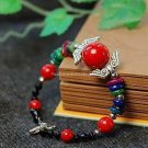 Buy Wholesale Tibet Jewelery Women Bracelets Natural Coral beads Colorful Shell Tibetan silver Brac