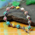 Buy Wholesale Tibetan Jewelery Colorful Flowers Bead Bracelets Women Lucky Gift Fashion Personality