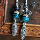 Buy Wholesale Tibetan silver Amethyst Malachite Rhinestone Bead Pendant Earring Women Gift Refineme