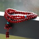 Buy Wholesale Jewelery Fashion High Quality Women Natural Red Coral Flowers  Beads Bracelets Turquo