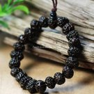 Buy Fashion Natural Bodhi 8mm Black Bracelet  Bangle for Women and Men Buddhist Bracelet Adjustable