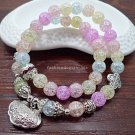 Buy Lucky Crystal Natural Stone Bracelet Multilayer Beaded Bracelets Jewelry Female Bracelets  Bang