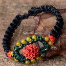 Buy Original Shell Flower Bracelets Fashion Lucky Silk Handmade Accessory New Jewelry Wholesale Gif