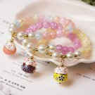 Buy Summer Jewelry Multicolor Natural Stone 8MM Round Beads Crystal Bracelet for Women DIY Jewelry